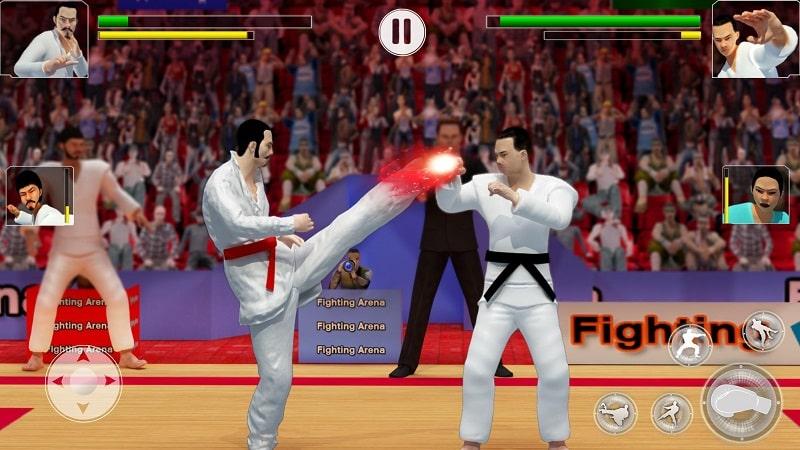 Karate Fighting mod pure