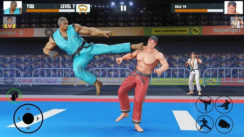 Karate Fighting mod