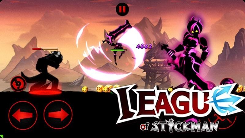 League-of-Stickman-mod-apk