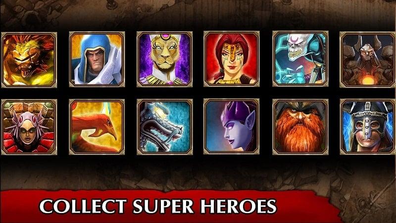 Legendary Heroes MOBA Offline mod apk
