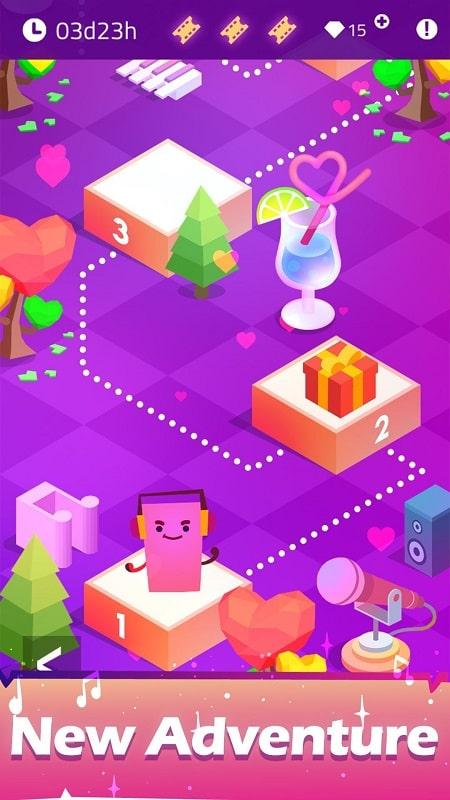 Magic Dream Tiles mod apk free