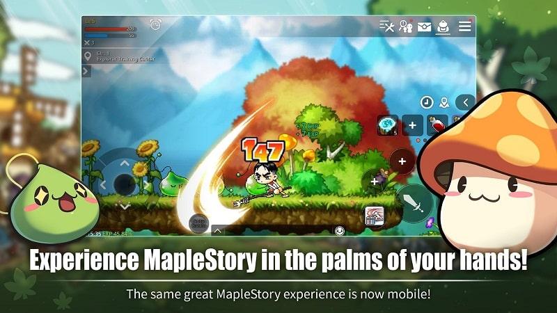 MapleStoryM mod apk free