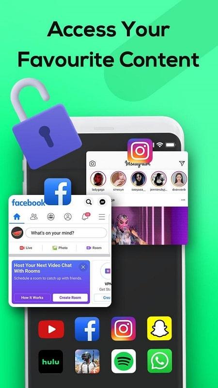 Melon VPN mod android
