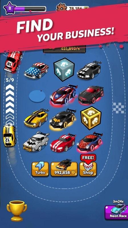Merge Battle Car mod free