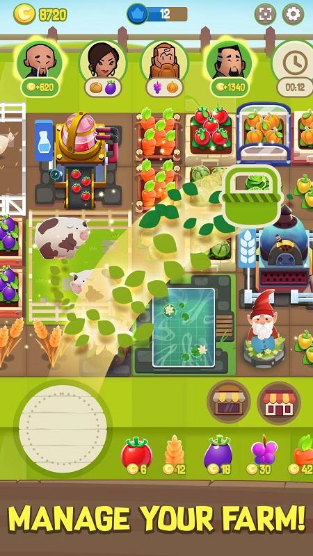 Merge Farm mod free