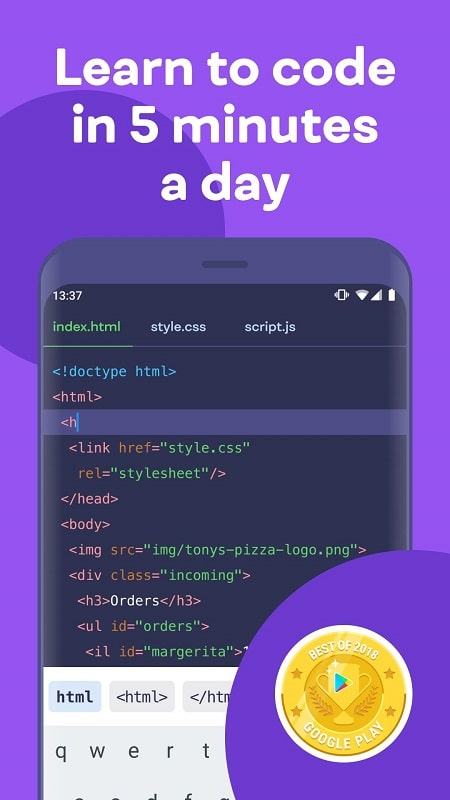 Mimo Learn Coding mod android