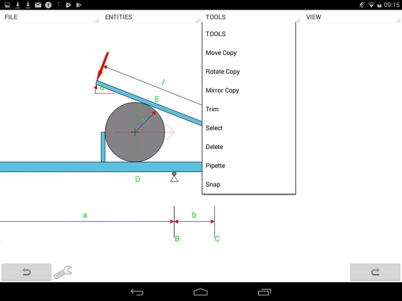 MobilCAD 2d Pro mod android