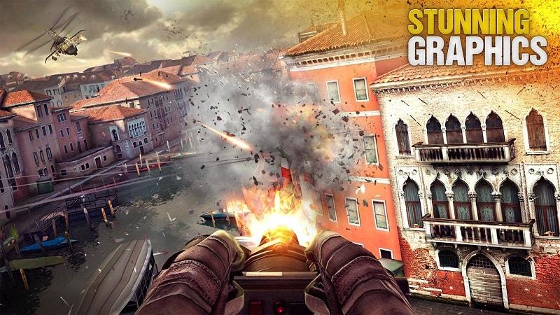 Modern Combat 5 mod download
