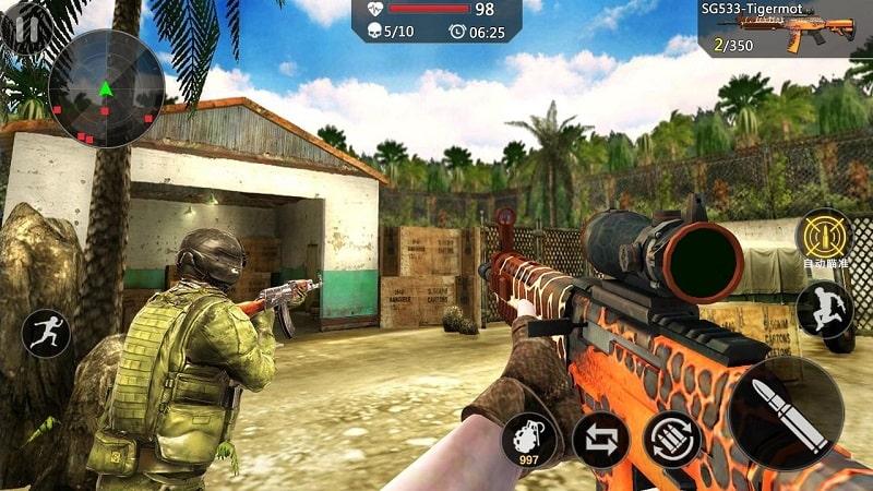 Modern Strike Multiplayer FPS mod apk