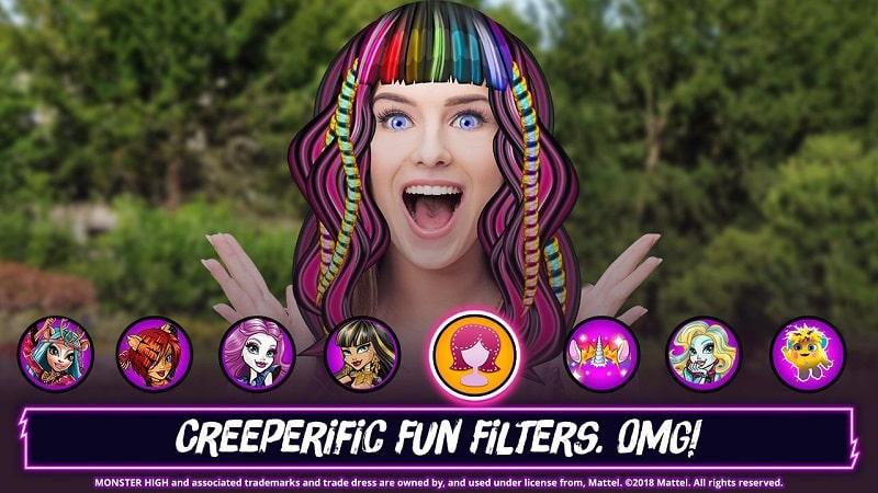 Monster High Beauty Shop mod download