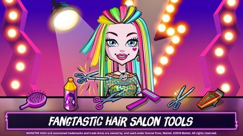 Monster High Beauty Shop mod free