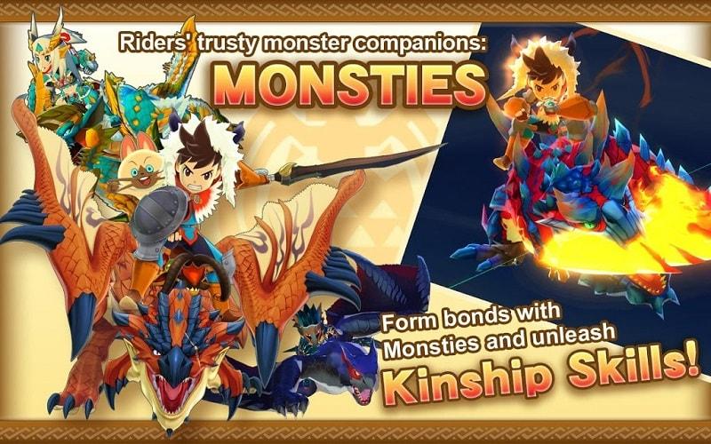 Monster Hunter Stories mod apk