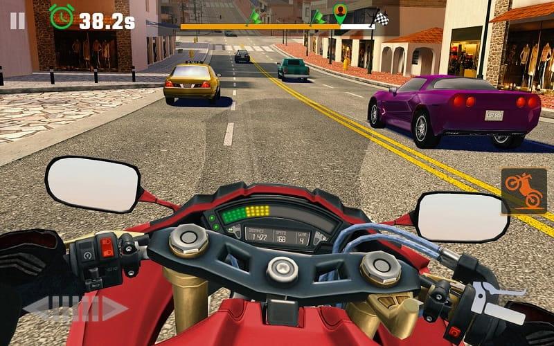 Moto Rider GO mod android