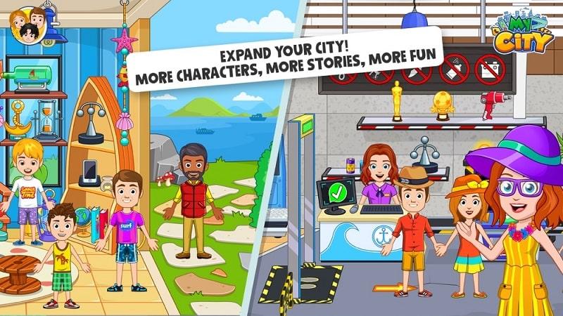 My City Boat Adventures mod apk free