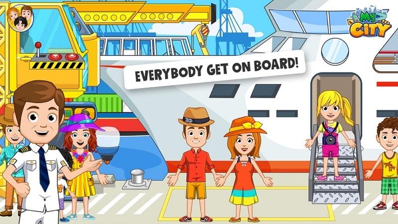 My City Boat Adventures mod apk