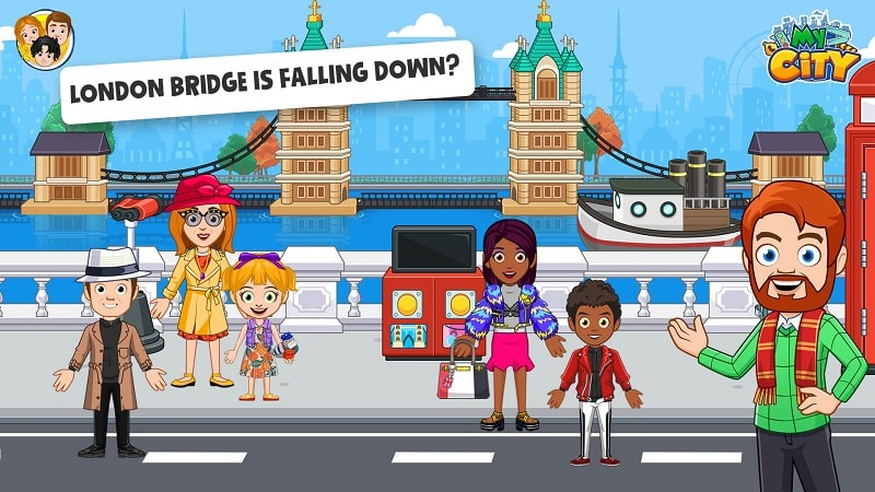 My City London mod download