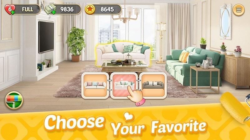 My Home Design Dreams mod apk