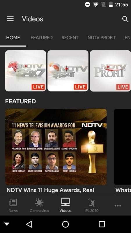 NDTV News mod