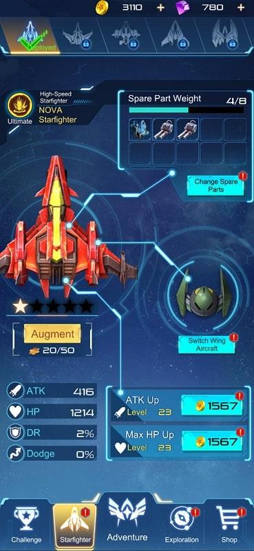NOVA Fantasy Airforce 2050 mod