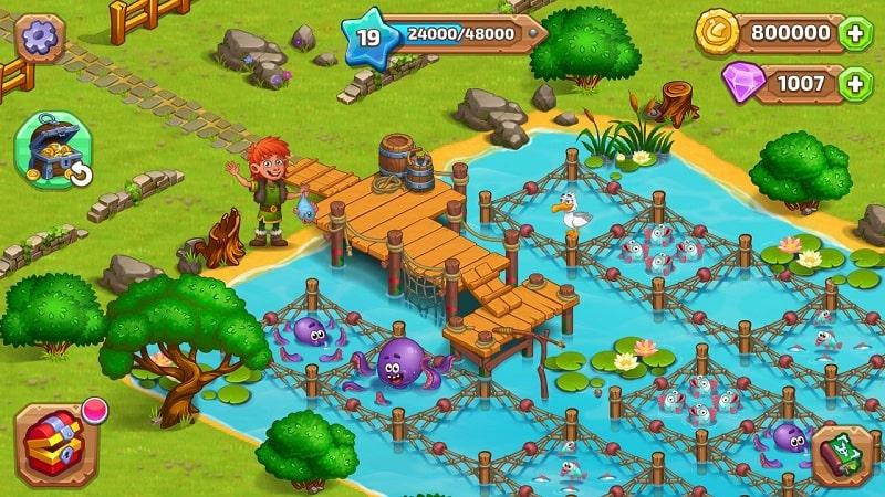 North Dragon Island mod free