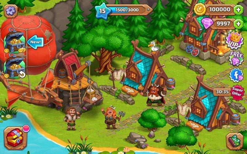North Dragon Island mod