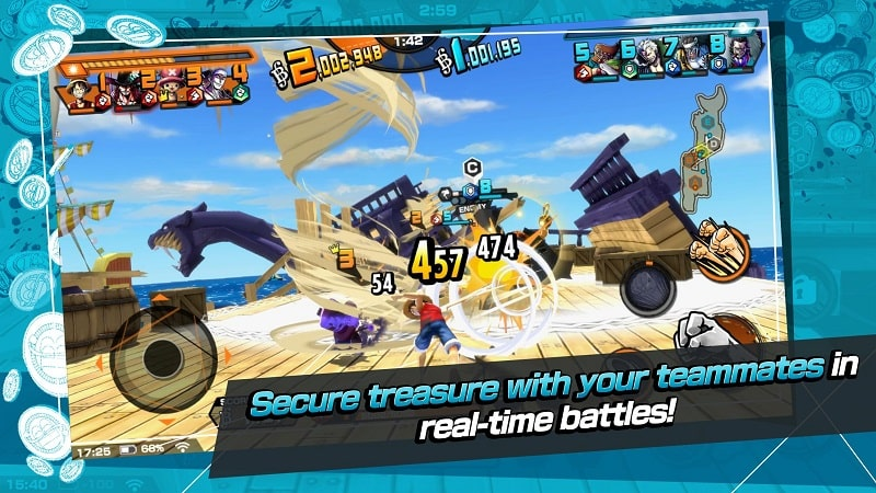 ONE PIECE Bounty Rush mod free1