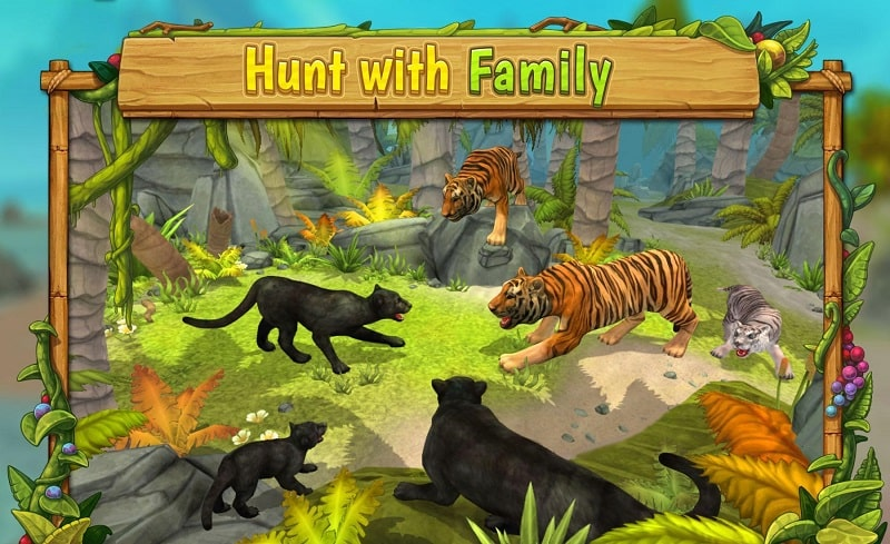 Panther Family Sim Online mod