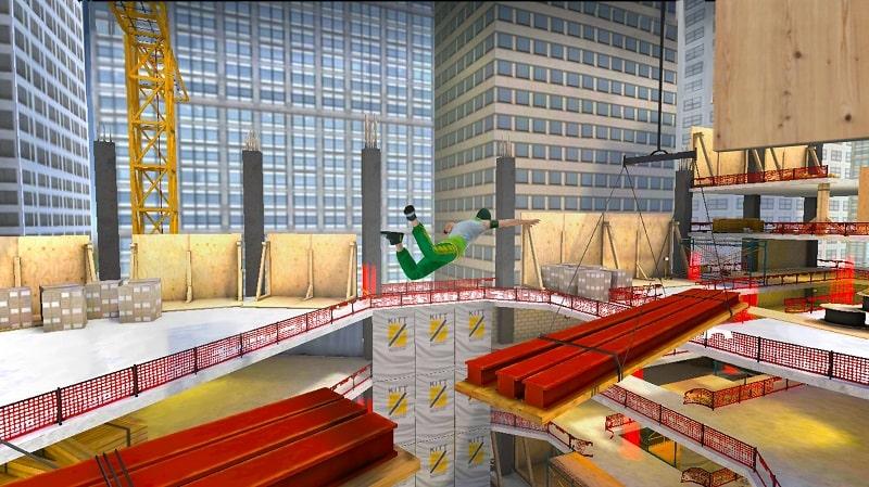 Parkour Simulator 3D mod free