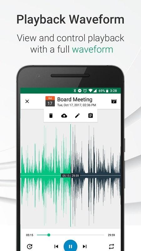 Parrot Voice Recorder mod
