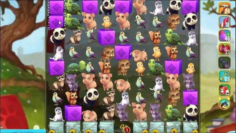 Pet Rescue Saga mod free