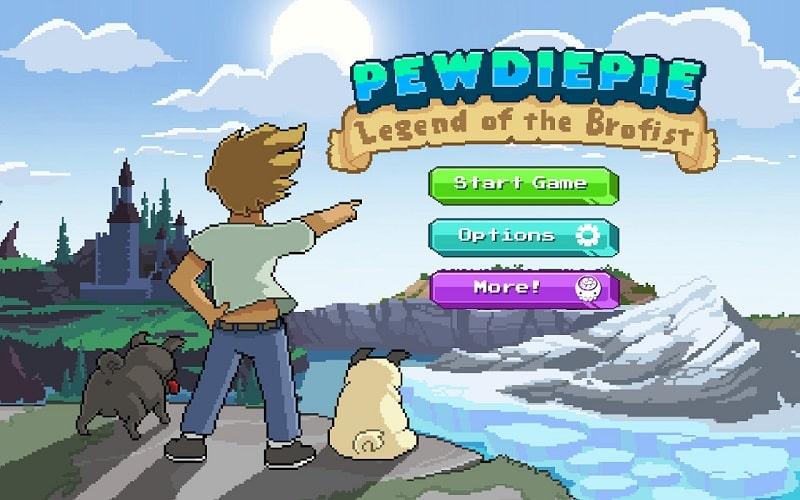 PewDiePie Legend of Brofist mod download1