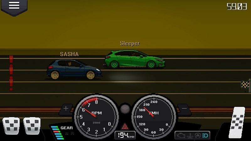 Pixel Car Racer MOD download