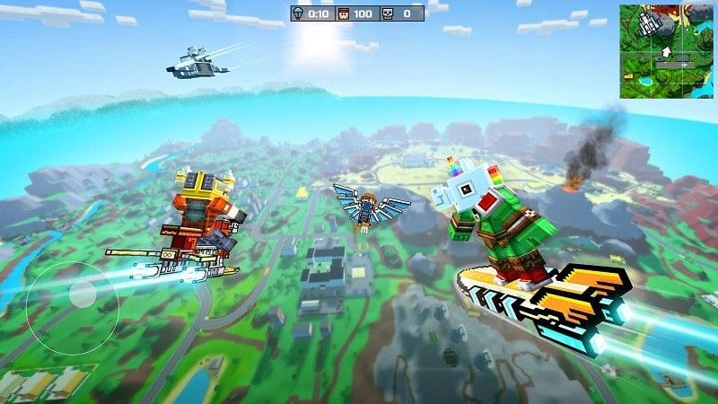 Pixel Gun 3D mod free