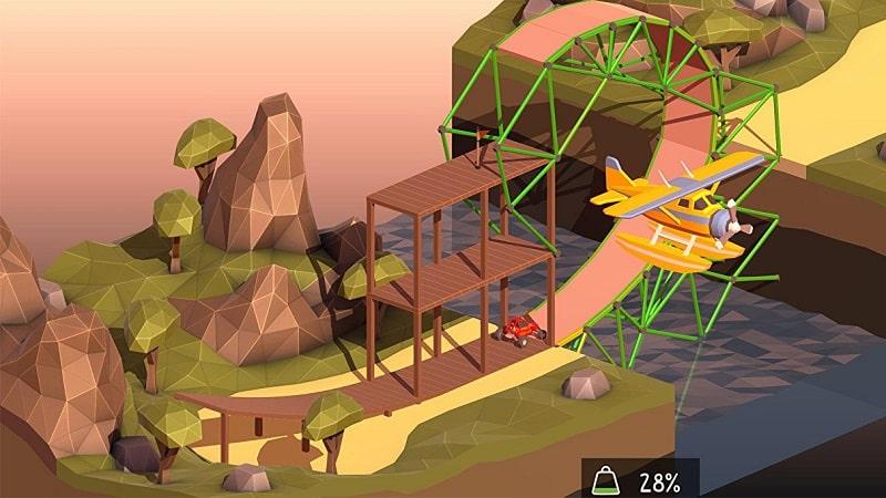 Poly-Bridge-2-mod-apk-free