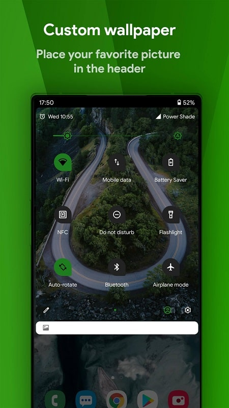 Power Shade mod android