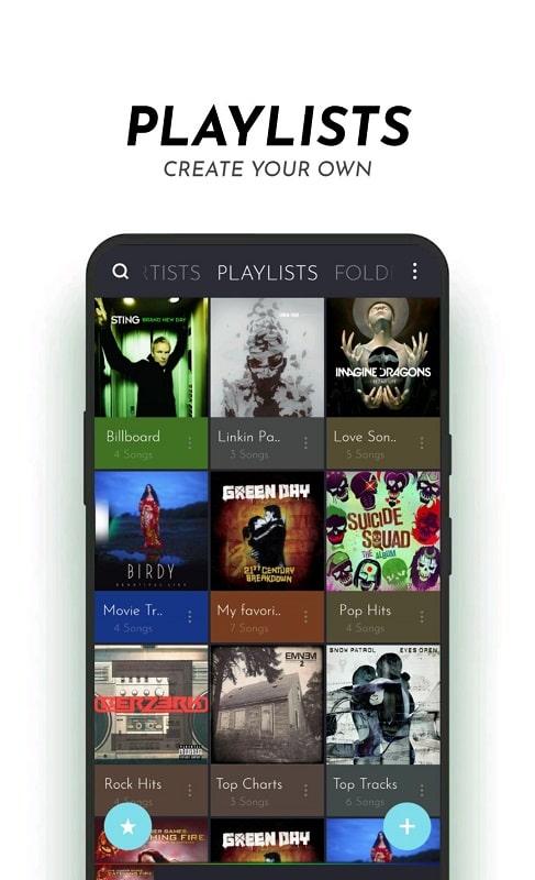 PowerAudio Pro Music Player mod apk