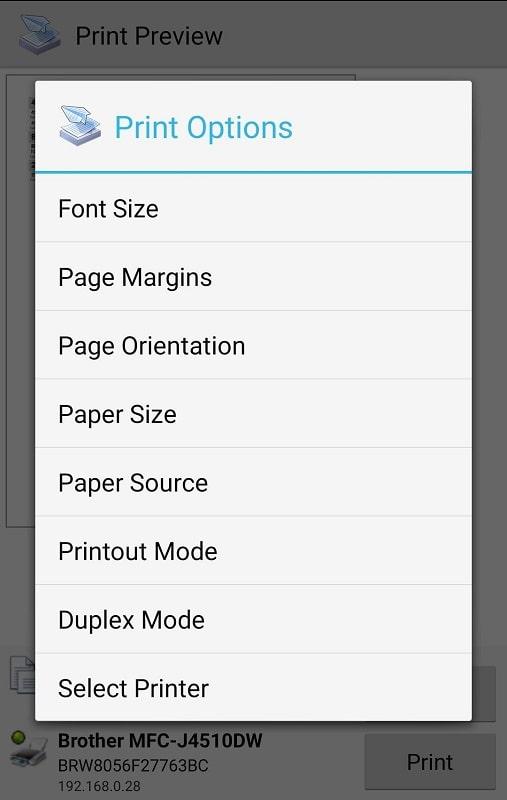 PrinterShare Mobile Print mod android