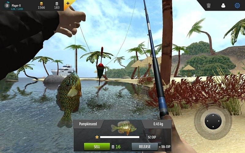 Professional Fishing mod android