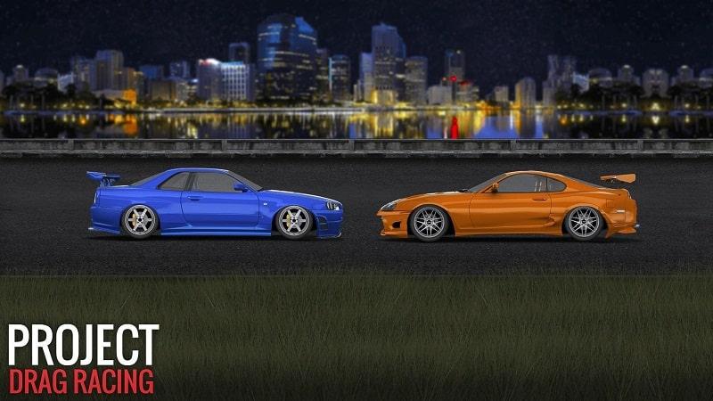 Project-Drag-Racing-free-mod