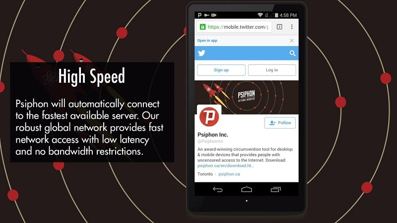 Psiphon Pro mod android