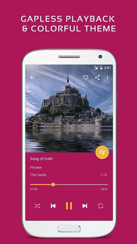 Pulsar Music Player Pro mod apk