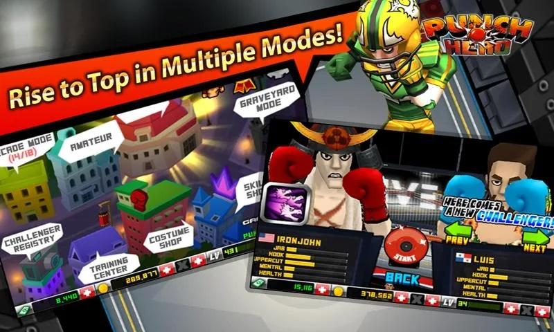 Punch Hero mod free