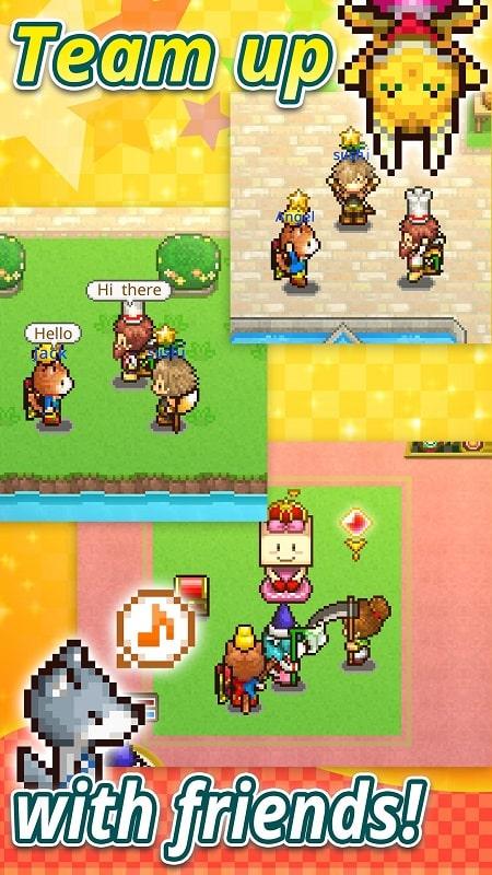 Quest Town Saga mod free