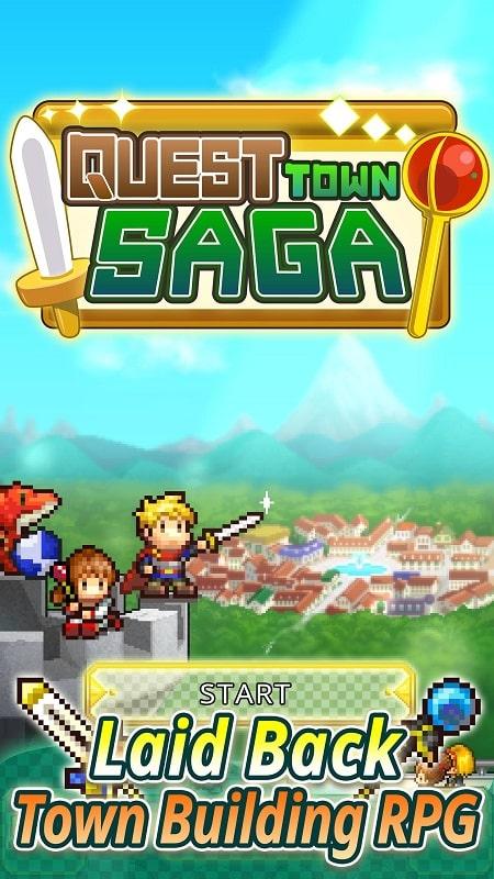 Quest Town Saga mod mod