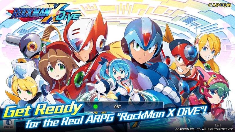 ROCKMAN X DiVE mod
