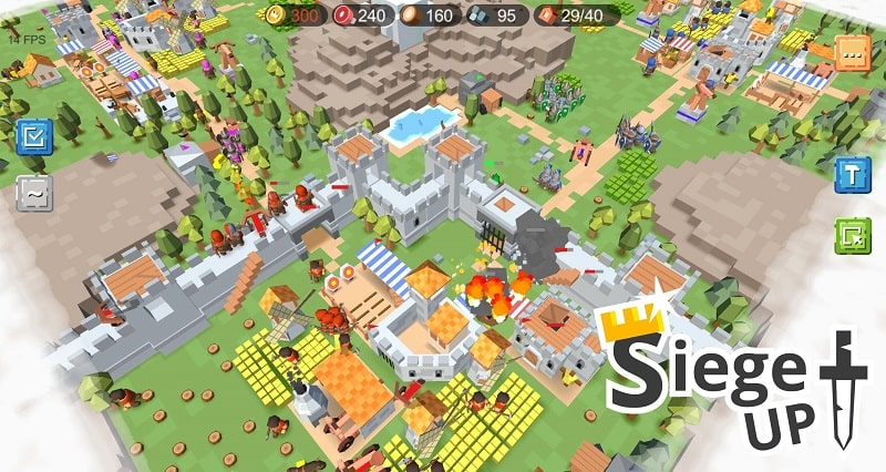 RTS Siege Up mod android