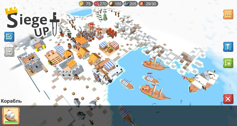 RTS Siege Up mod download