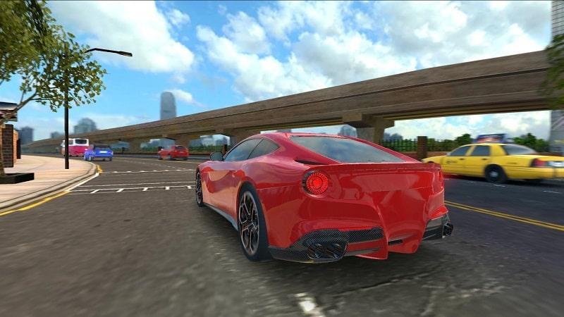 Racing in Car 2021 mod free