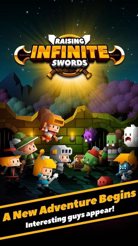 Raising Infinite Swords mod