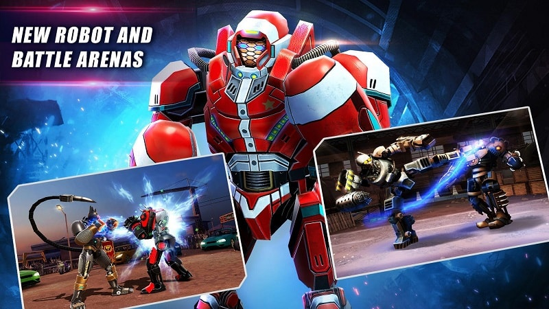Real Steel World Robot Boxing mod download